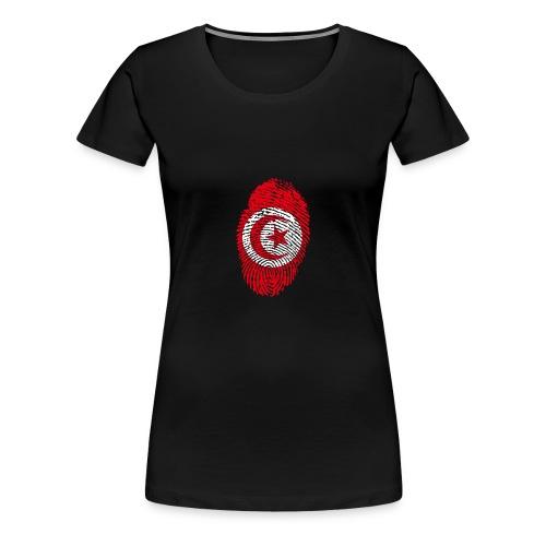 Empreinte Tunisie - T-shirt Premium Femme