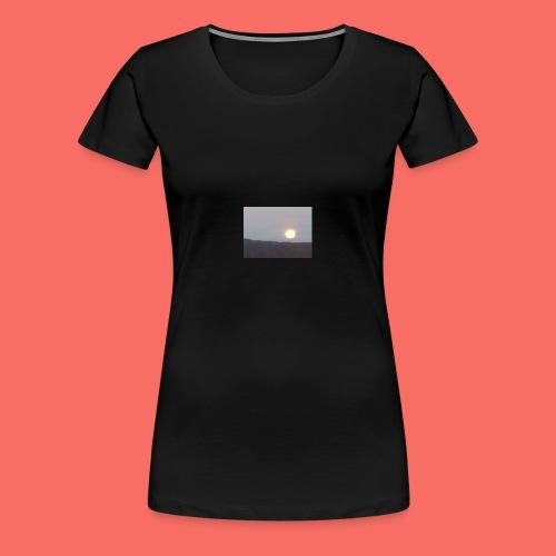 MÅNE ÖVER NORDNORGE - Premium-T-shirt dam