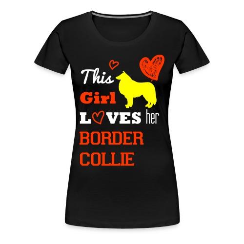 Border Collier - Frauen Premium T-Shirt