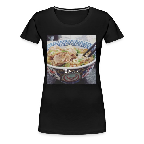 ITADAKIMASU ! 1 - T-shirt Premium Femme