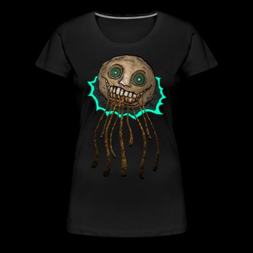 Snuspaltspöket - Premium-T-shirt dam