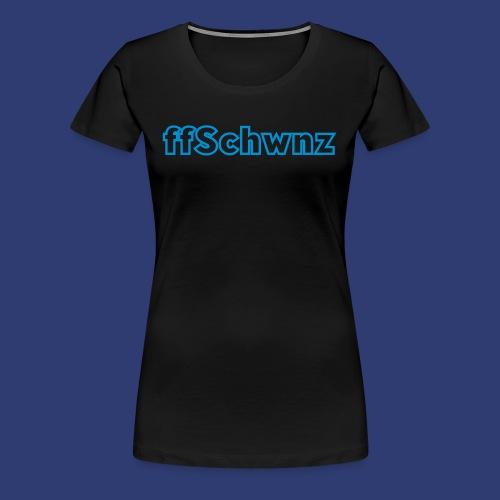 ffschwnz - Vrouwen Premium T-shirt