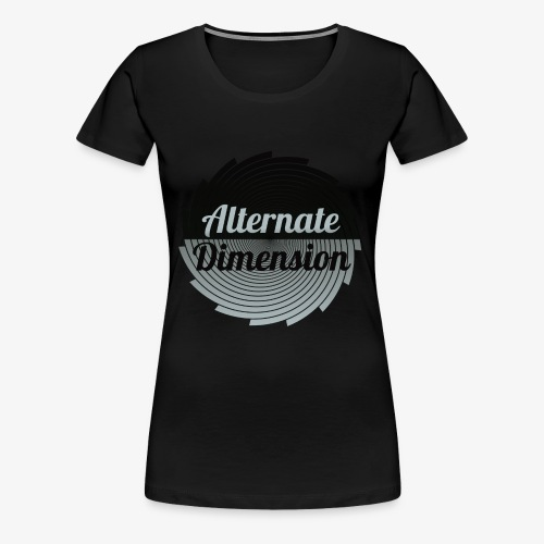 Alternate Dimension (Gross) - Frauen Premium T-Shirt