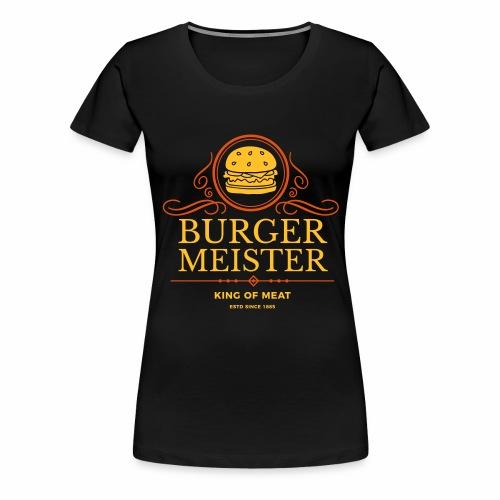 Burgermeister - Frauen Premium T-Shirt