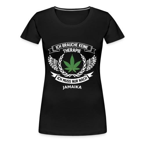 Jamaika Hanfblatt T-Shirt Urlaub - Frauen Premium T-Shirt