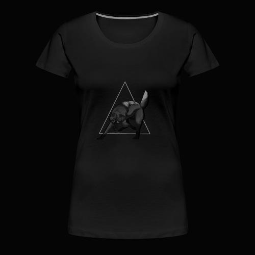 Leg dich nicht mit mir an - Frauen Premium T-Shirt