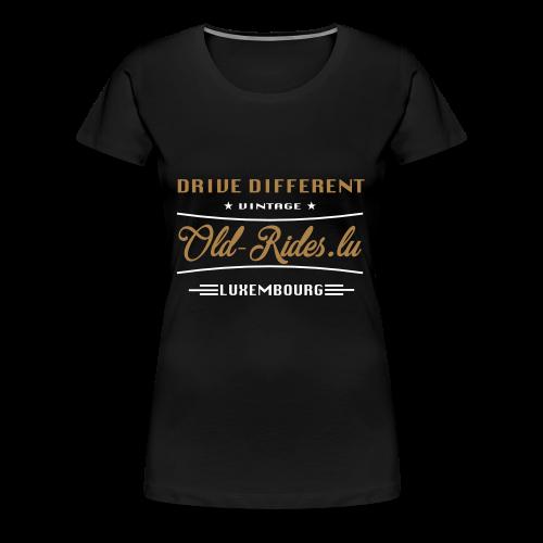 Grafik-logo - Frauen Premium T-Shirt
