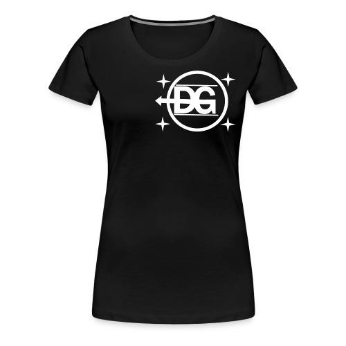 DG logo weiß - Frauen Premium T-Shirt