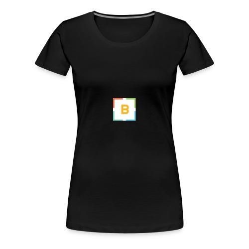 Best for Flest bare logo - Premium T-skjorte for kvinner