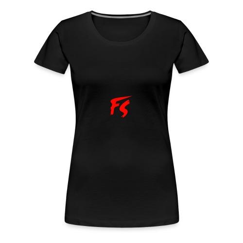 FS Logo rood - Vrouwen Premium T-shirt