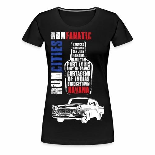 Koszulka rumowa - Havana - Koszulka miłośnika rumu - Koszulka damska Premium