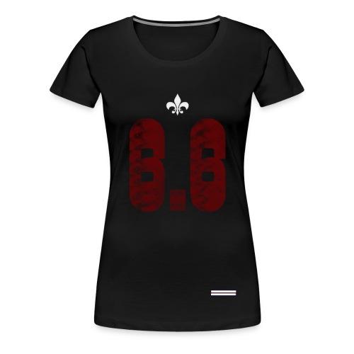6.6 front - Premium-T-shirt dam