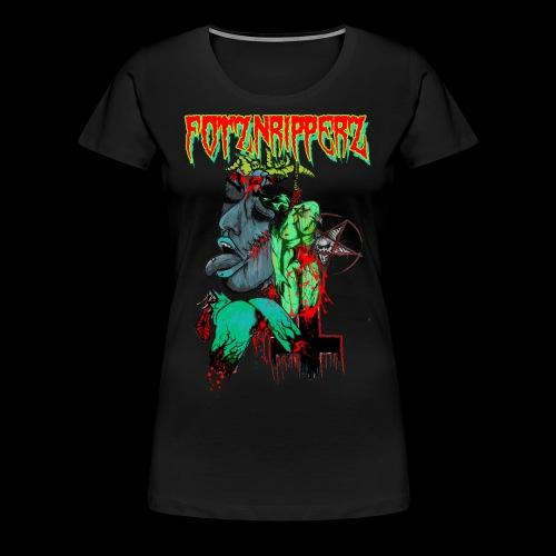 FOTZNRIPPERZ - Frauen Premium T-Shirt