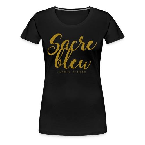 Jardin d'Eden Sacre bleu - Frauen Premium T-Shirt