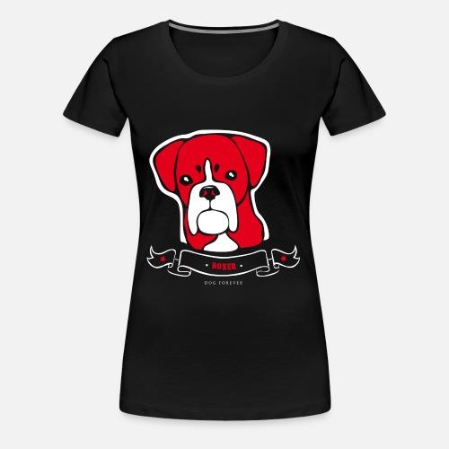 Boxer - Maglietta Premium da donna
