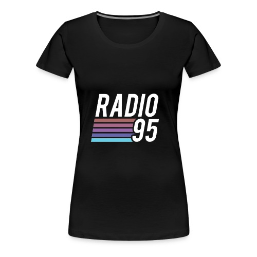 Il serbatoio superiore (Canotta) di Radio95! - Maglietta Premium da donna
