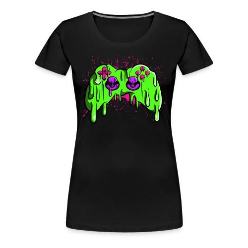 Controller geschmolzen - Frauen Premium T-Shirt