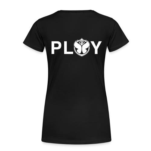 Big Play Logo White - Vrouwen Premium T-shirt