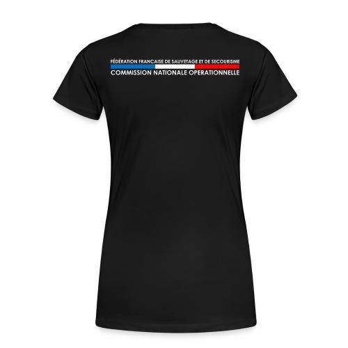 LOGO CNO - T-shirt Premium Femme