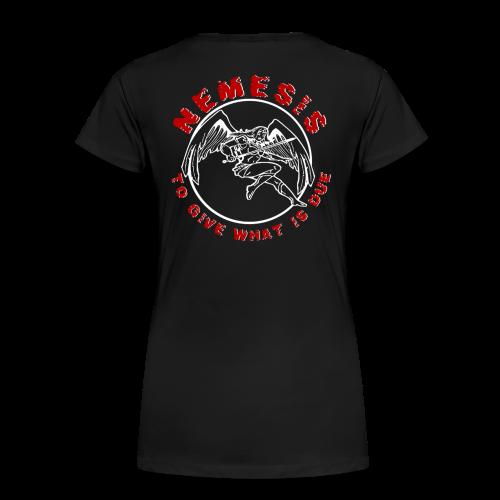 Nemesis Logo - Frauen Premium T-Shirt