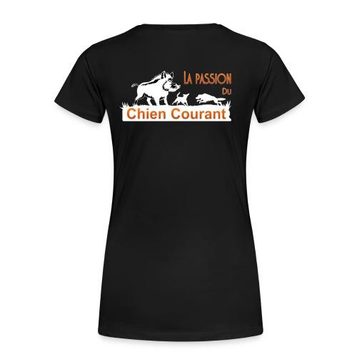 Passion chien courant - T-shirt Premium Femme