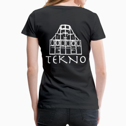 Soundsystem Tekno Rave wear Free Party Tribe - Frauen Premium T-Shirt