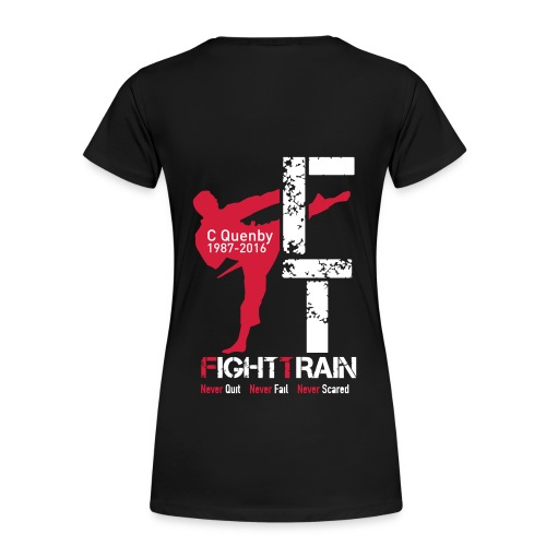 Fight Train 'The Collection' Range - Women's Premium T-Shirt