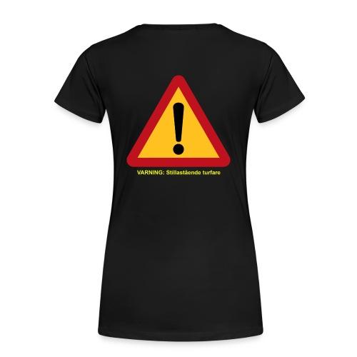 VarningTurfare - Premium-T-shirt dam