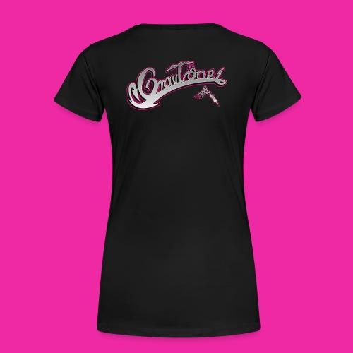 Logo Grautoene neu1 jpgshop - Frauen Premium T-Shirt
