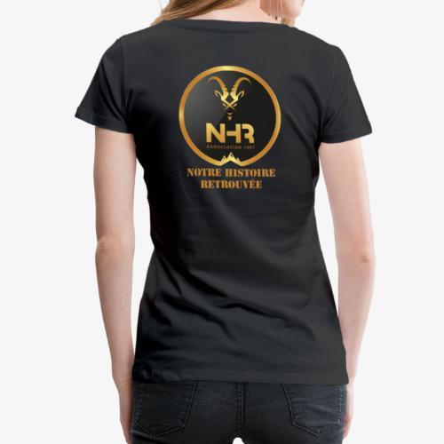LOGO NHR - T-shirt Premium Femme