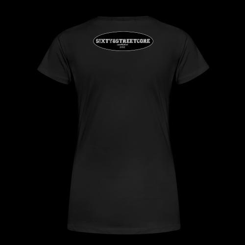 68FL:OZ - sixty8streetcore Rückseite - Frauen Premium T-Shirt