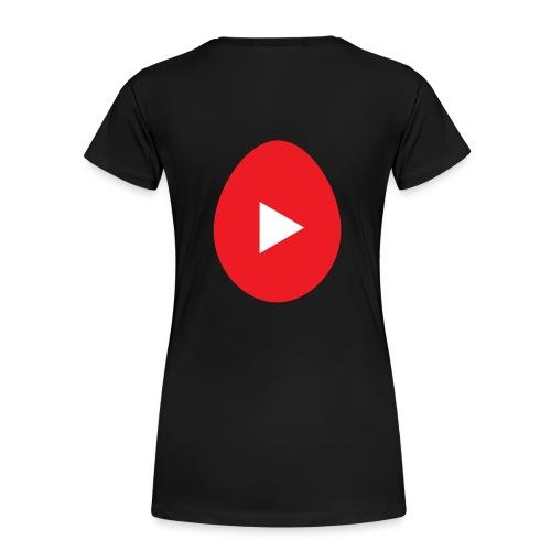 Ei - Vrouwen Premium T-shirt
