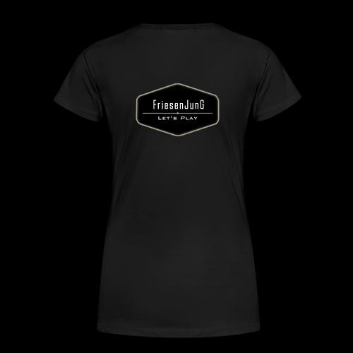 Friesenjung Logo - Frauen Premium T-Shirt