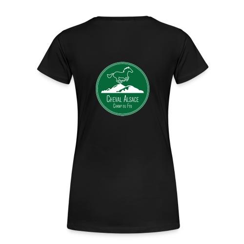 CHEVAL ALSACE- logo - T-shirt Premium Femme