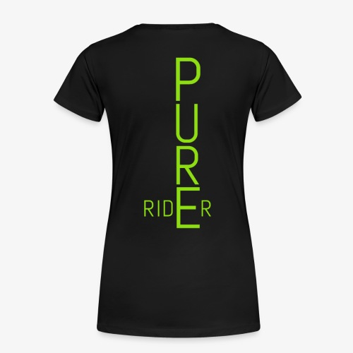 PURErider - Frauen Premium T-Shirt