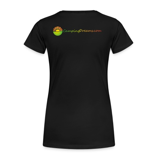 CampingDreams - Frauen Premium T-Shirt