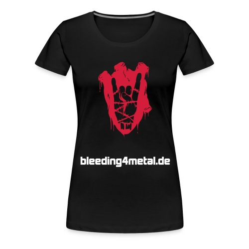 bleeding logo - Frauen Premium T-Shirt