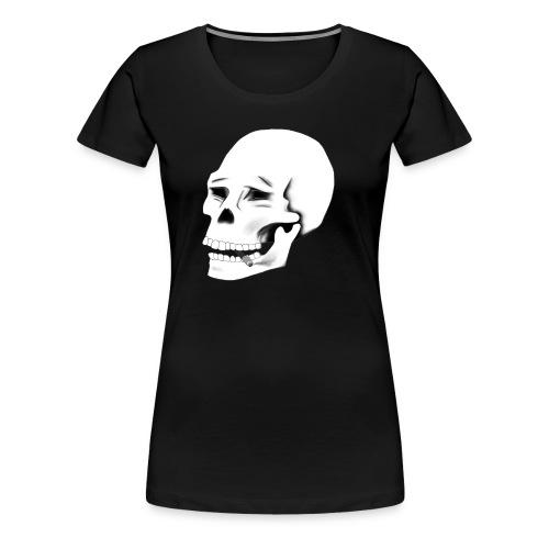 SMOKE KILLS (White version) - Naisten premium t-paita