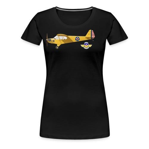 Piper Cub Spirit of Lewis - T-shirt Premium Femme