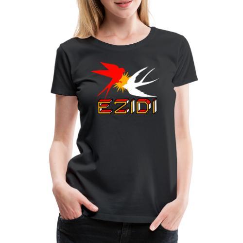 Ezidi Vogel Schwalbe Ezidxan Flagge - Frauen Premium T-Shirt