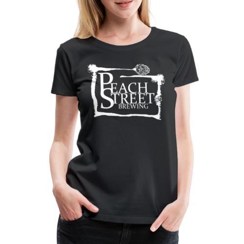 Peach Street Brewing Loggo - Premium-T-shirt dam