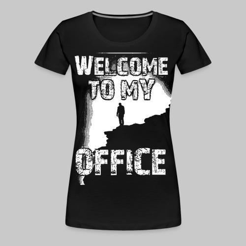 welcome to my office buero dschungel berg 2reborn - Frauen Premium T-Shirt