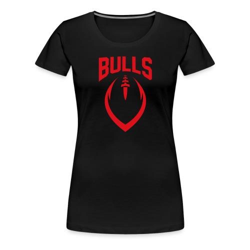 Coesfeld Bulls Football - Frauen Premium T-Shirt