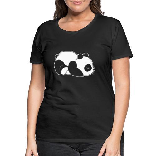 Panda, süß, Tier, Comic - Frauen Premium T-Shirt