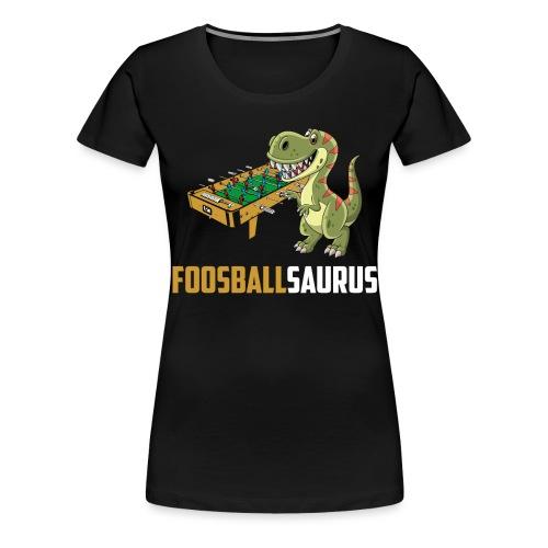 Tischfußball Kicker Krökeln - Frauen Premium T-Shirt