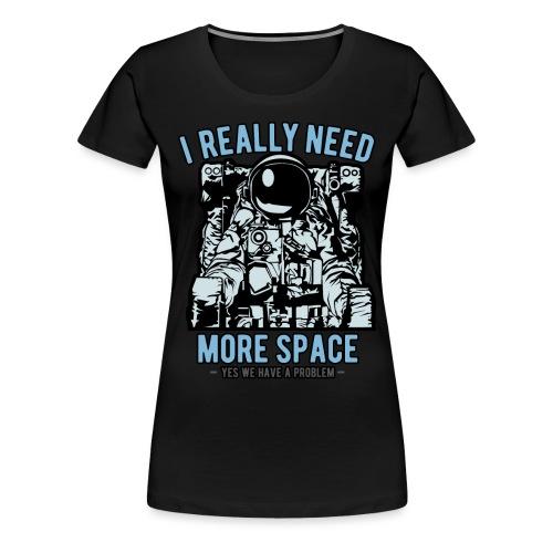 Space Astronaut Introvertiert - Frauen Premium T-Shirt