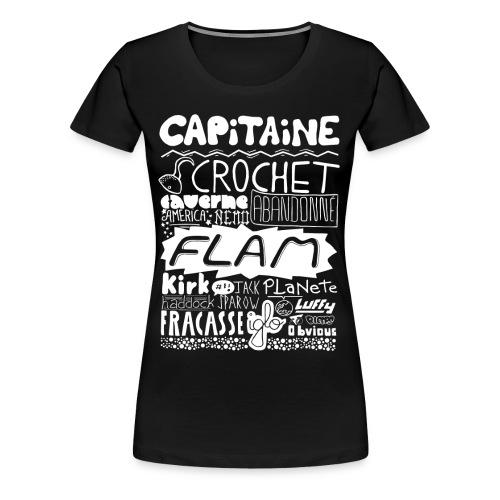 capitaine-blanc Tee shirts - T-shirt Premium Femme