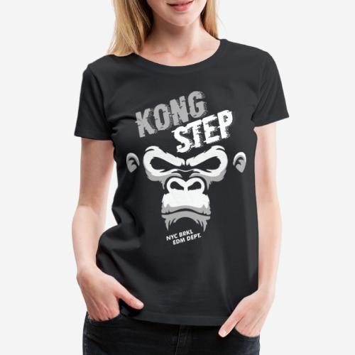 dubstep dub step music edm - Frauen Premium T-Shirt