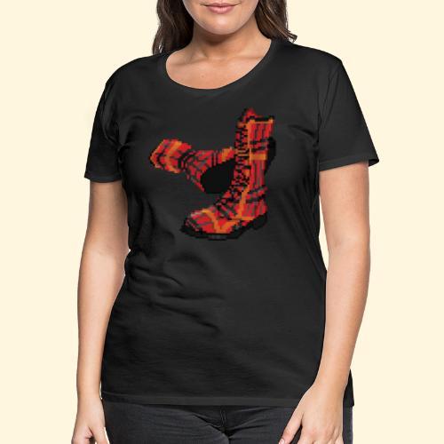 Rock and Shoes - Rock'n'll Shoes - T-shirt Premium Femme