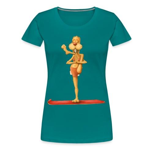Yoga - Rabbit - Frauen Premium T-Shirt